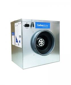 CarbonActive EC Silent Box 750m³/h 200mm Flansch