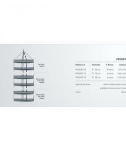 GHP Prodry Modulable Trockennetz S ø55cm 4 Lagen